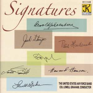 UNITED STATES AIR FORCE BAND: Signatures