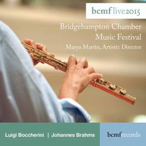 Brahms: Piano Quintet & Boccherini: Flute Quintet