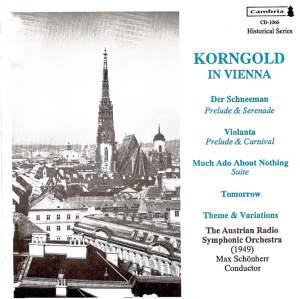Korngold in Vienna (1949 & 1955)