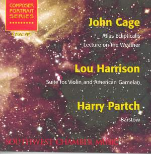 Music by Cage, Harrison & Partch