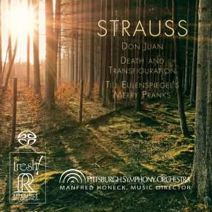 R. Strauss: Don Juan, Death and Transfiguration & Till Eulenspiegel's Merry Pranks