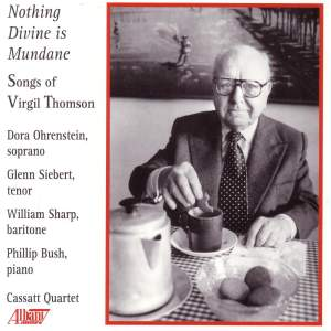 THOMSON, V.: 5 Songs from William Blake / La belle en dormant / Mostly about Love / 3 Estampas de Ninez / 2 by Marianne Moore
