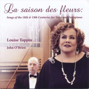 La saison des fleurs - Songs of the 18th & 19th Centuries for Voice and Fortepiano Product Image