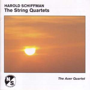 SCHIFFMAN, H.: String Quartets Nos. 1 and 2 / Capriccio (Auer String Quartet)