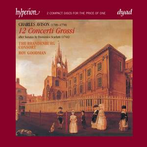 The English Orpheus 28 - Charles Avison Concerti Grossi after Scarlatti Product Image