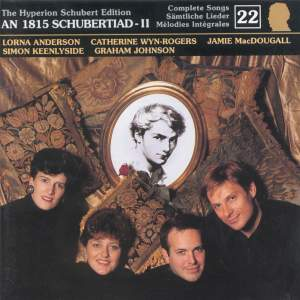 The Hyperion Schubert Edition - Complete Songs Volume 22