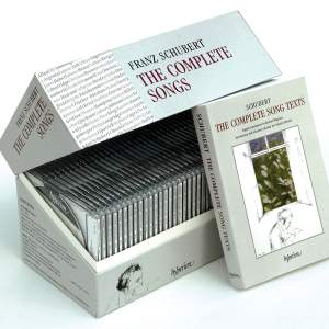 The Hyperion Schubert Edition - Complete Songs Product Image