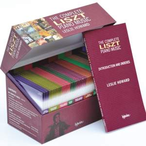 Liszt: The Complete Piano Music (99 CD boxset)