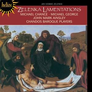 Zelenka: Lamentationes (6) Jeremiæ Prophetæ, ZWV53