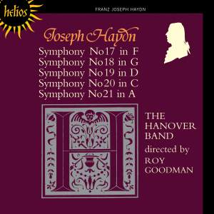 Haydn - Symphonies Nos. 17-21 Product Image