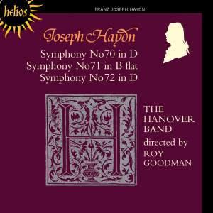 Haydn - Symphonies Nos. 70, 71 & 72