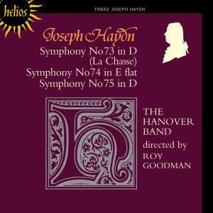 Haydn - Symphonies Nos. 73, 74 & 75