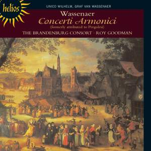Wassenaer: Concerti Armonici Nos. 1-6 (formerly attributed to Pergolesi)