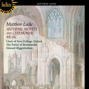 The English Orpheus 3 - Locke: Anthems, Motets and Ceremonial Music