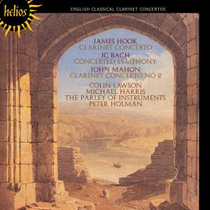 The English Orpheus 39 - English Classical Clarinet Concertos