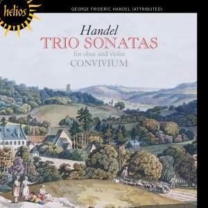 Handel - Trio Sonatas for oboe and violin