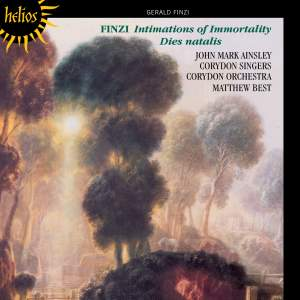 Finzi: Intimations of Immortality & Dies natalis