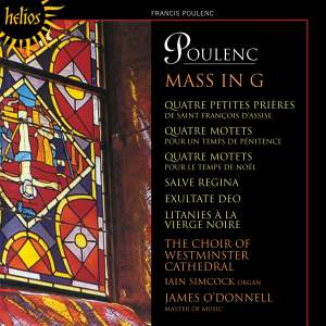 Poulenc: Mass in G and other works