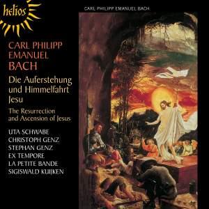 Bach, C P E: Die Auferstehung und Himmelfahrt Jesu, H777 Product Image