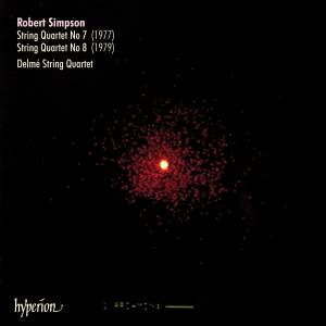 Robert Simpson: String Quartets 7 & 8
