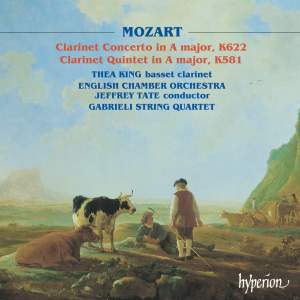 Mozart: Clarinet Concerto in A major, K622, etc.