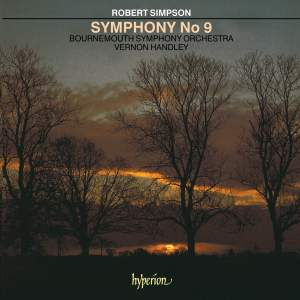Simpson, R: Symphony No. 9 Product Image