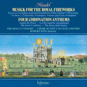 Handel: Fireworks Music & Coronation Anthems