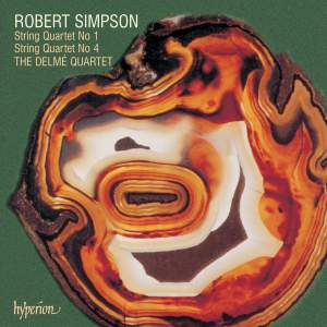 Robert Simpson: String Quartets 1 & 4