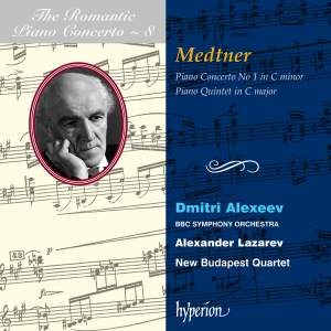The Romantic Piano Concerto 8 - Medtner