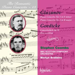 The Romantic Piano Concerto 13 - Glazunov and Goedicke