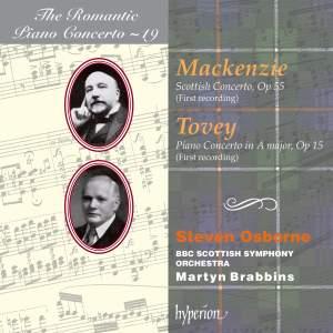 The Romantic Piano Concerto 19 - Tovey & Mackenzie