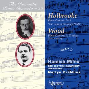 The Romantic Piano Concerto 23 - Holbrooke and Wood
