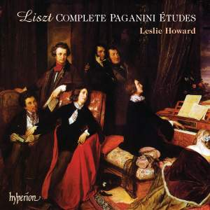 Liszt Complete Music for Solo Piano 48: The Complete Paganini Études