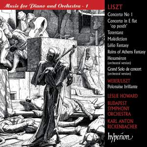 Liszt Complete Music for Solo Piano 53a: Music for Piano & Orchestra 1