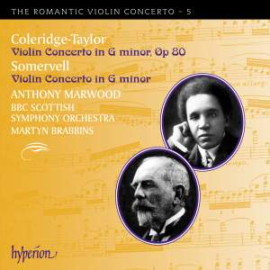 The Romantic Violin Concerto 5 - Coleridge-Taylor & Somervell