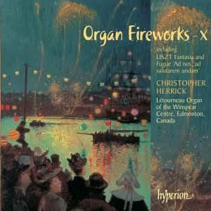 Organ Fireworks X