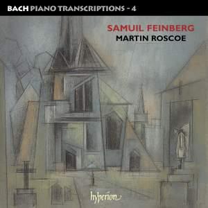 Bach - Piano Transcriptions Volume 4