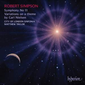 Simpson: Symphony No. 11 & Variations on a theme by Carl Nielsen Product Image