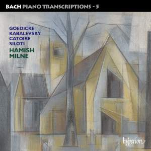 Bach - Piano Transcriptions Volume 5 Product Image