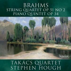 Brahms: String Quartet & Piano Quintet