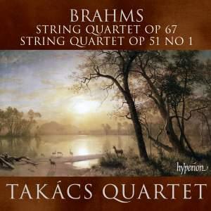 Brahms - String Quartets Nos. 1 & 3