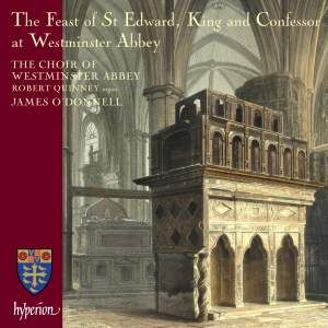 The Feast of St Edward, King and Confessor, at Westminster Abbey Product Image