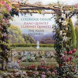 Coleridge-Taylor: Piano Quintet & Clarinet Quintet Product Image
