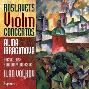 Roslavets - Violin Concertos