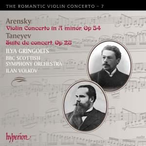 The Romantic Violin Concerto 7 - Arensky & Taneyev