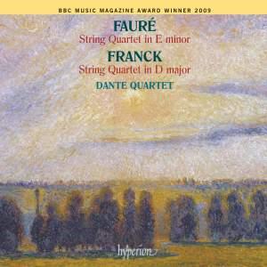 Franck & Fauré - String Quartets Product Image