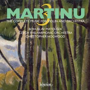 Martinu - The complete music for violin and orchestra Volume 3