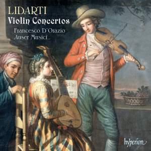 Lidarti - Violin Concertos Product Image