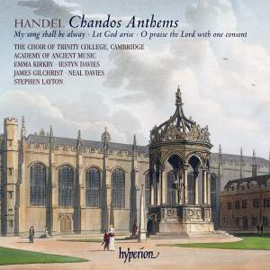 Handel - Chandos Anthems Nos. 7, 9 & 11