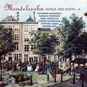Mendelssohn - Songs & Duets Volume 4